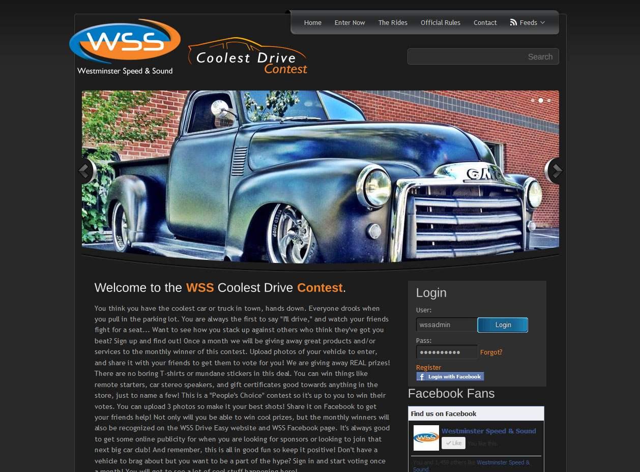 WSS Coolest Drive Contest